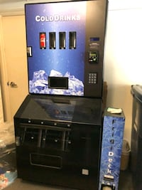 3 Cashless Vending Machines New Toronto, M1L 0H1