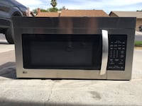 Stainless LG microwave oven Las Vegas, 89103