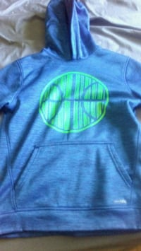 blue and green Nike pullover hoodie Omaha, 68157