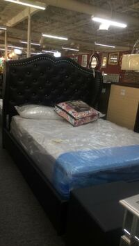 Queen bed frame only  Irving, 75062
