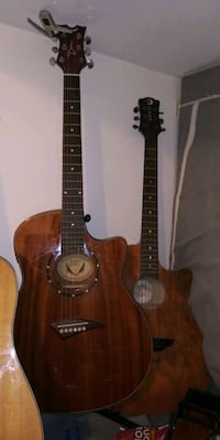 brown and black acoustic guitar Gaithersburg, 20877