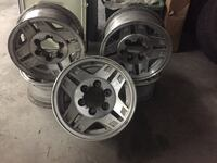 Five Toyota pickup wheels North Vancouver
