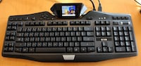 Logitech G19 Gaming Keyboard with Macro keys, RGB and LCD Screen