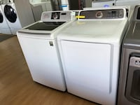 Samsung white washer and dryer bundle  47 km