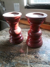 Candle stands ceramic  Denison