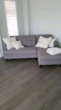 gray sectional sofa  King City, L0G