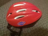 white and red Bike Gear bicycle helmet London, N5Y 4J7