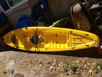 yellow and black kayak with paddle Clovis, 93611