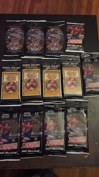 46 NFL & MLB Trading Card Packs Retail over $225