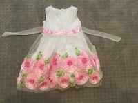 Pre-Loved Pink Flowered Dress Xenia, 45385
