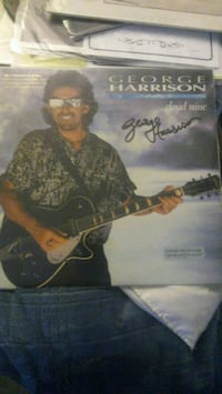 George Harrison signed record 89520, 89520