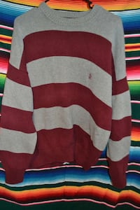 Nautica grey and red sweater Size medium Bowie, 20721