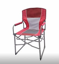 2 portable camping outdoor director chair $70 both  San Antonio, 78216