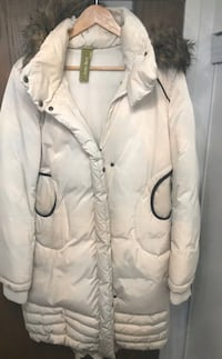 XL down white very warm ski style jacket