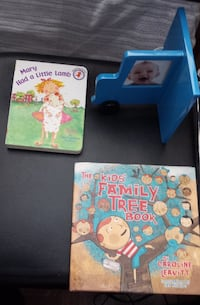 BRAND NEW CHILDREN'S BOOKS AND PICTURE FRAME BOOK END Toronto