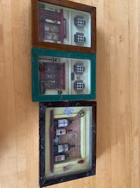 3 for $10 Shadow Box Frames featuring miniature scenes Toronto, M6H 3X7