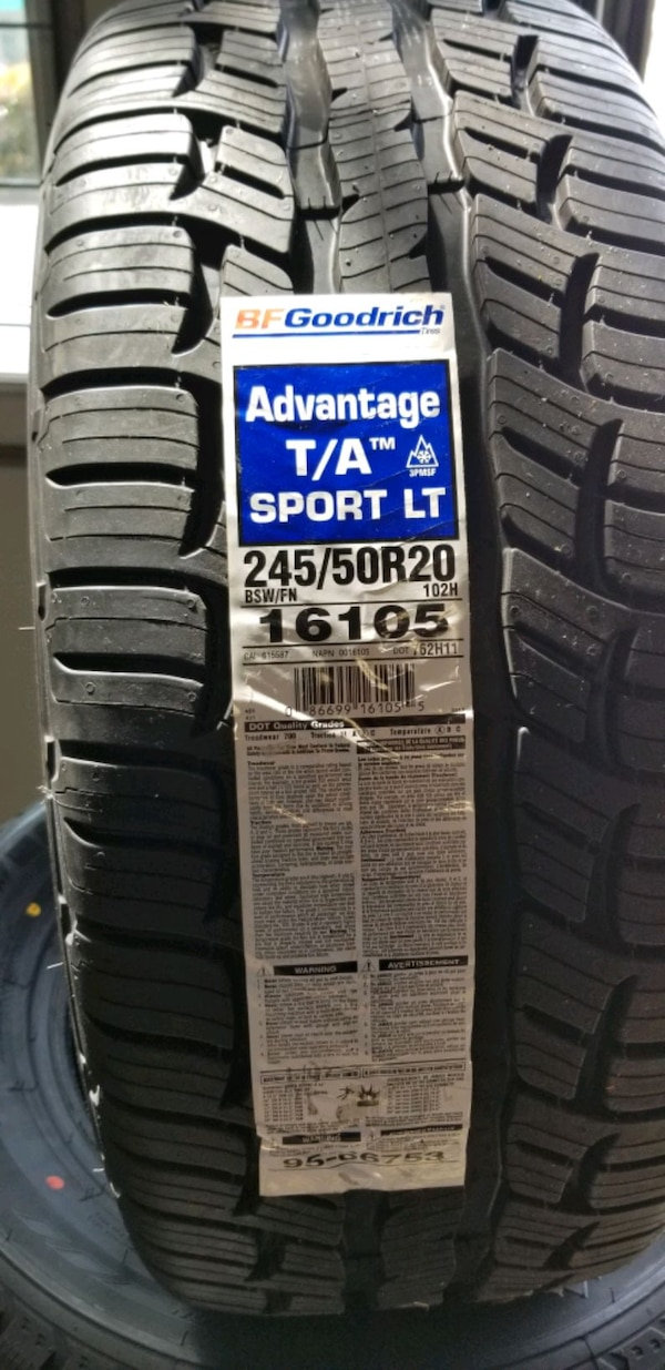 Brand new tires 1
