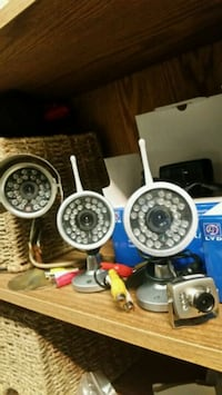 4 good quality security cameras for sale $45 and under Langley City, V3A 3G3