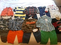 (10 outfits)Toddler Boy Clothes Mobile, 36609