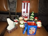 Collection of Christmas Candles, Very old, never used Montréal