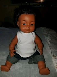 baby doll in white and black shirt Stockton, 95206