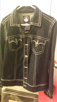 SOURCE OF WISDOM BY TORRID SIZE 2 JEAN JACKET Whitby, L1N
