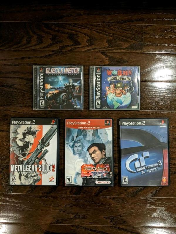 Classic PS1 and PS2 games