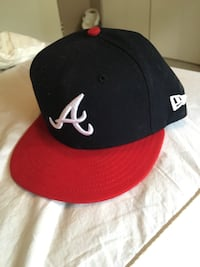 New era 7 1/8 Atlanta braves hat  Delta, V4C 7N1