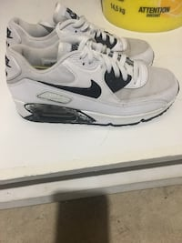 pair of white Nike Air Max shoes Calgary, T2Z 1X9