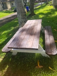 picnic table $150 or best offer Wahiawa, 96786