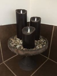 Battery pillar candles Sherwood Park, T8H 1T4