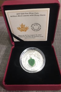 Silver $20 Coin Royal Canadian Mint  Toronto, M6E