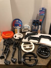 Large Lot of Wii Accessories  48 km