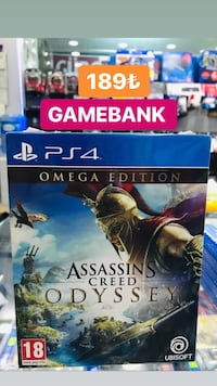 Ps4 ASSASSINS CREED ODYSSEY OMEGA EDİTION