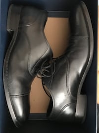 Pair of black leather dress shoes Richmond, 23219