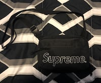 Supreme Shoulder Bag Black FW 18 Kitchener, N2N 3R9