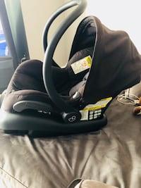 baby's black and gray car seat carrier Calgary, T3H 2N5