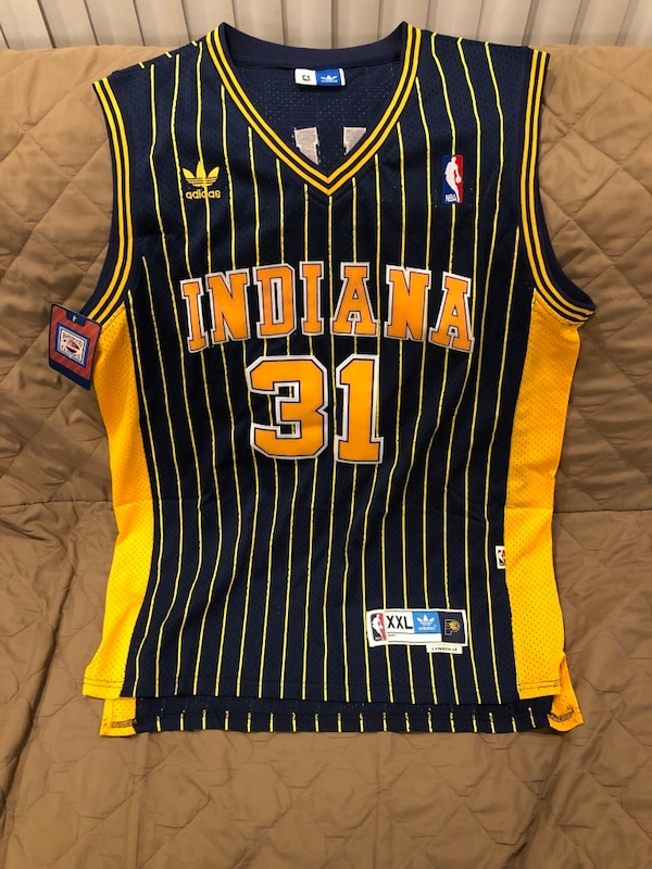 5d1c2eca6e0 Used NBA throwback jersey - Reggie Miller Indiana Pacers size XXL for sale  in Chicago - letgo