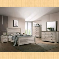 King Bed, dresser, mirror, nightstand  Houston, 77036