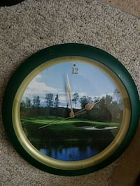 Golf Course clock, can't find battery cover