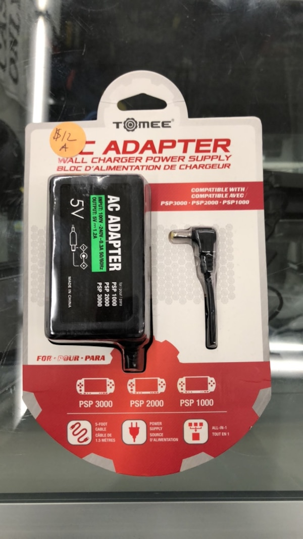PSP AC Adapter - Accessories