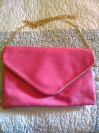 pink and brown leather wristlet Vancouver, 98683