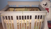 baby's white wooden crib Stoney Creek, L8G 3A9