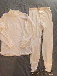 Airamid, flame retardant thermal underwear. Shirt and bottoms. San Diego, 92101