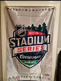 2016 Minnesota stadium series banner/can coozies. Saint Paul, 55107
