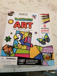 Window art set (brand new, never opened) Calgary