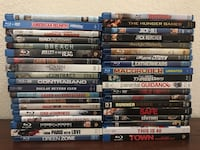 assorted Blu-ray movie cases Arvada, 80004