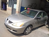 $2500--2004 Mitsubishi Lancer 162km-Certified-Rust Fixed-Clean Mississauga
