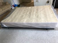 Box spring and frame for full-size bed Silver Spring, 20910
