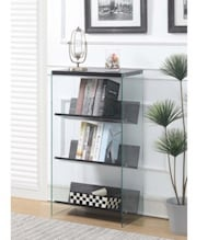 4 Tier Bookcase 24.25W x 12D x 41.75H